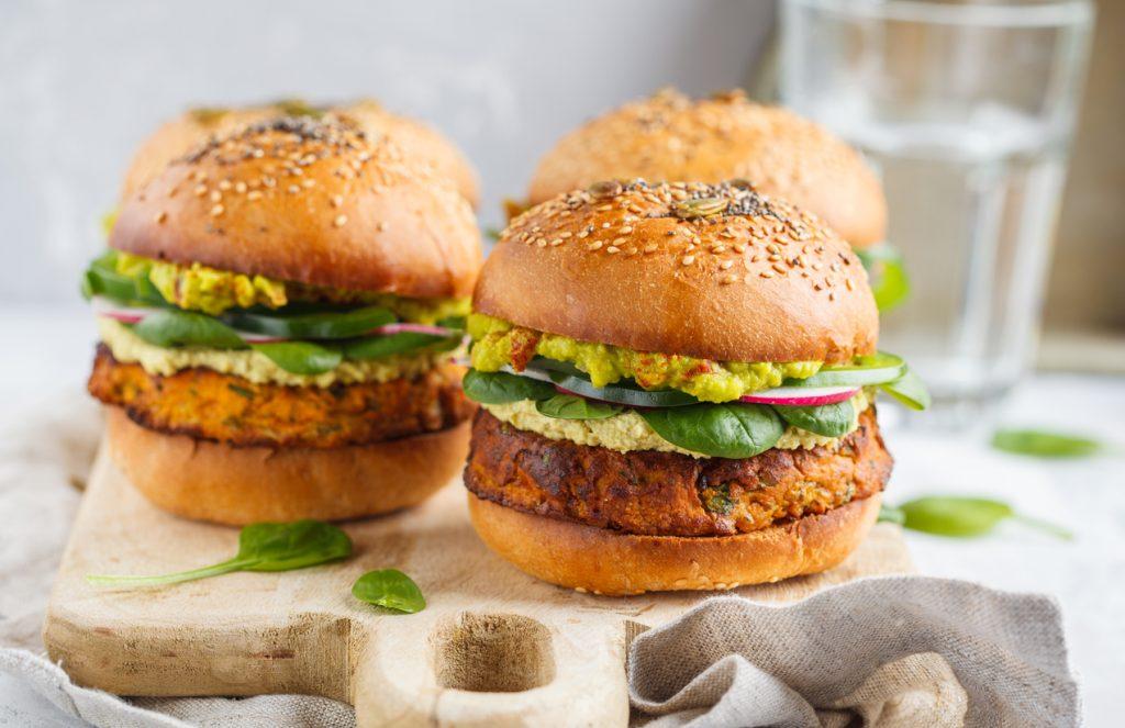 burger-vegan-pour-garder-la-ligne-en-teletravail